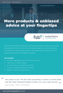 FSB User Guide cover image
